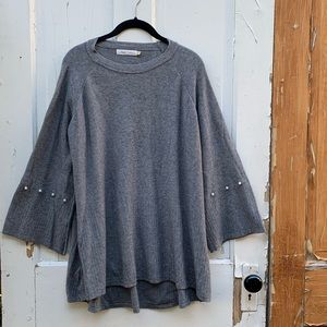 Simply Couture gray sweater Size XL